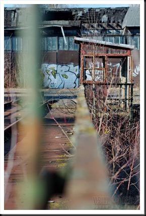 Lokschuppen und Rangierwerk Coburg 047